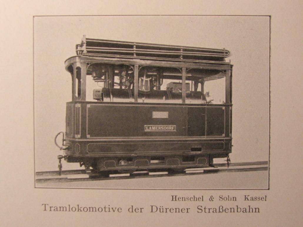 Historische Dampflokomotive